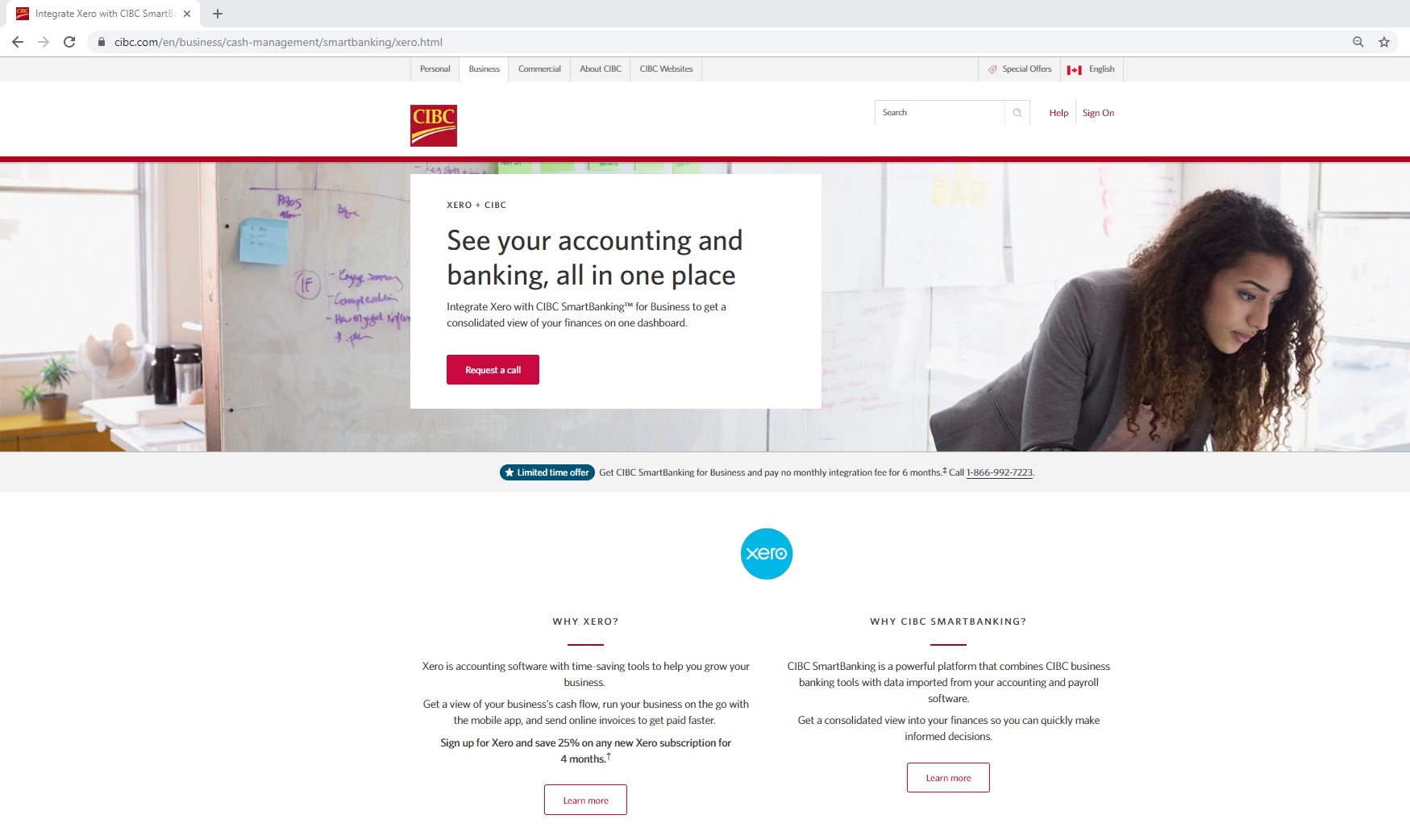 The new CIBC Smart Banking Platform and the new Xero bank feed connection (as well as other benefits)