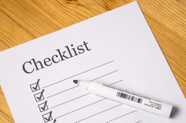 Year End Business Checklist